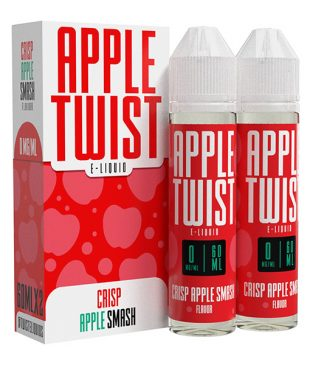 Apple Twist Crisp Apple Smash 2x60ml